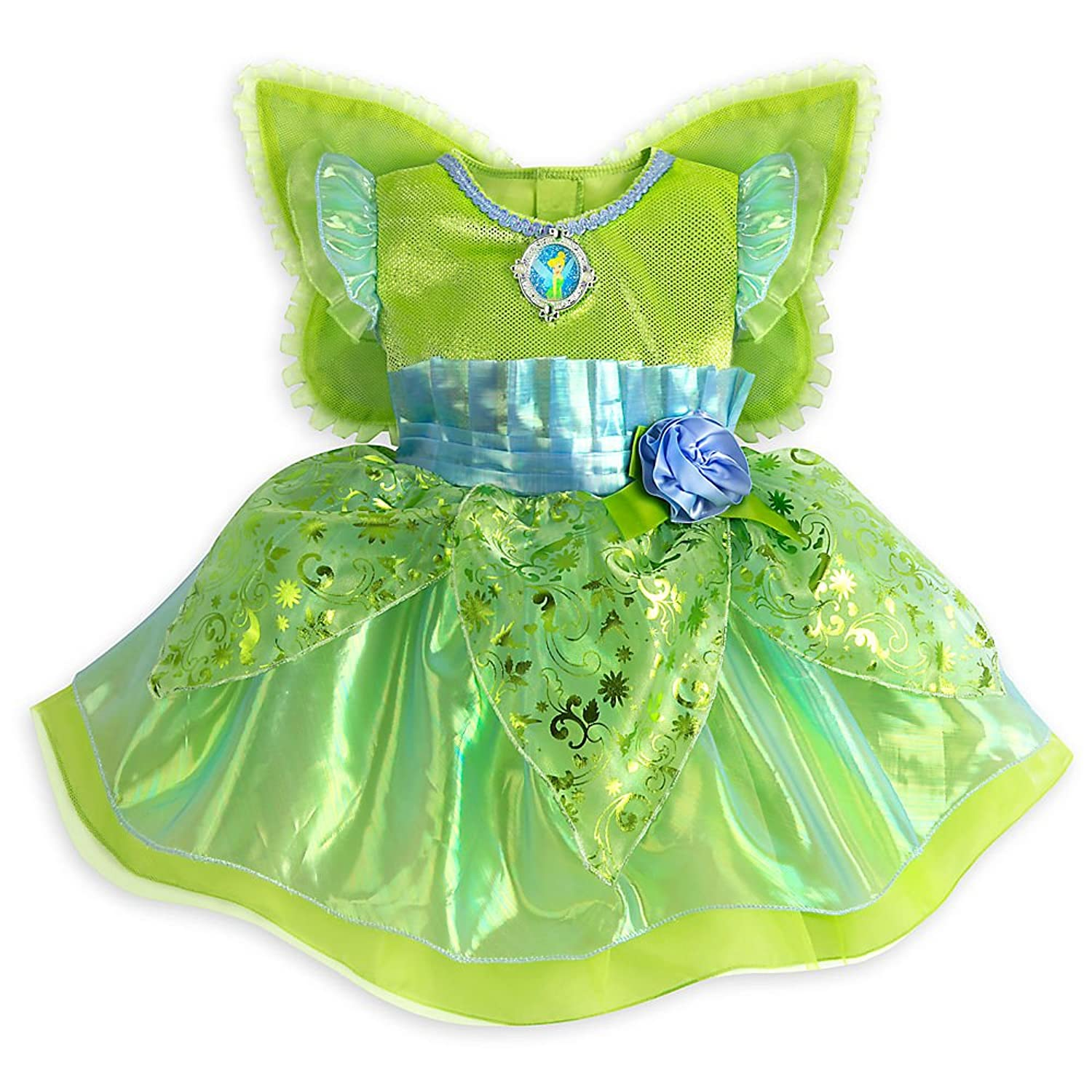 Amazon.com: Disney Tinker Bell Costume for Baby Green: Clothing