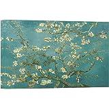 Stampe su tela Mandorlo in fiore da Vincent Van Gogh della parete di arte, pitture a olio di alta qualit¨¤ per la decorazione domestica (60cm x 90cm) (Unframed)