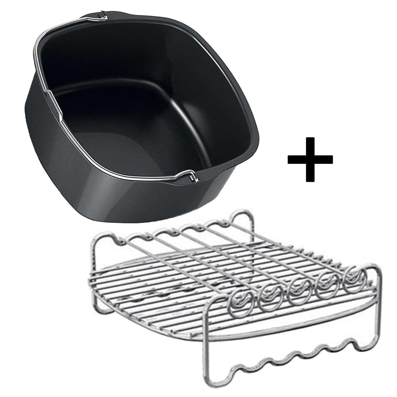 Philips Double /étag/ère et Plat de cuisson Pour friteuse Philips Airfryer HD9220 HD9230 HD9240