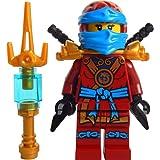 LEGO® Ninjago™ Minifigurine Deepstone Nya With Weapons