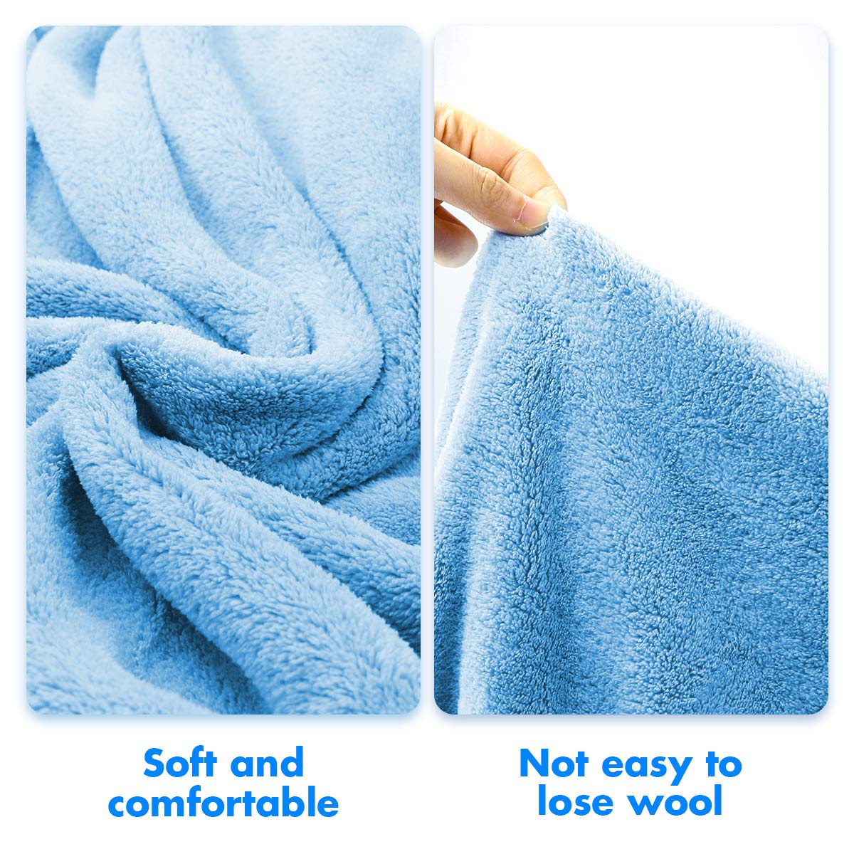 Kids Bath Towels,Premium Hooded Towel for Toddler Highly Absorbent Coral Fleece Bathrobe for Boys Girls-27.5\