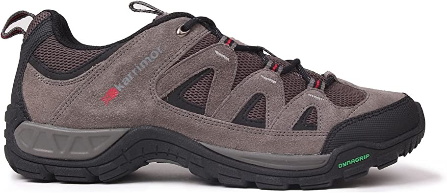 Karrimor Hombre Summit Zapatillas De Senderismo Carbón EU 44.5 (UK 10.5): Amazon.es: Zapatos y complementos