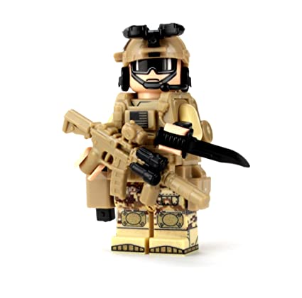 Battle Brick Seal Team Six Commando (SKU47) Custom (1 Minifigure)