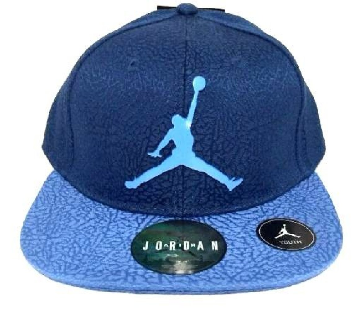 3ec571bb Galleon - Air Jordan Jumpman Elephant Print Blue Adjustable Youth Boy's Cap  8/20