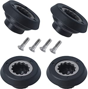 Drive Socket Kit suitable for RX 1700W Nutri-Bullet Blender Juicer Mixer Professional Base Gear Replacement Accessories Metal & Plastic (4Packs)