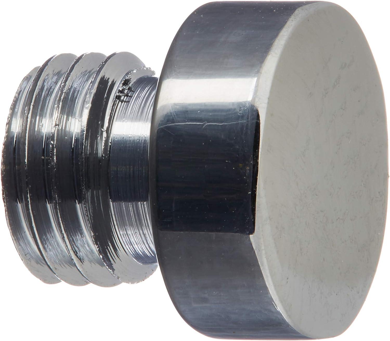 Bright Chrome Baldwin 1081260I Button Tip Hinge