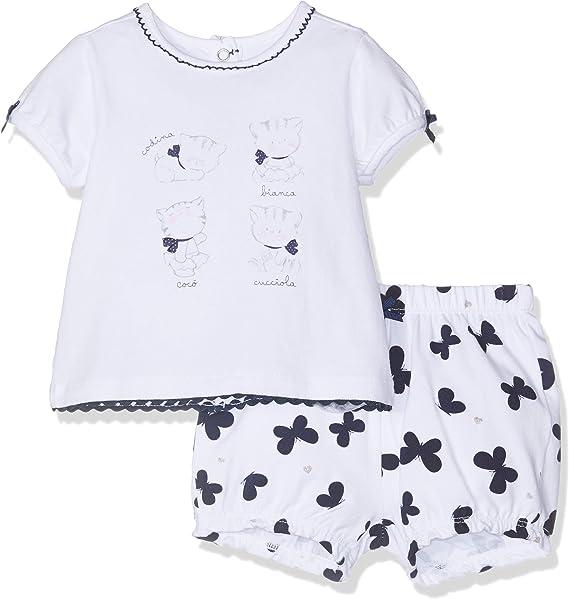 Chicco Baby Girls T-Shirt Manica Corta