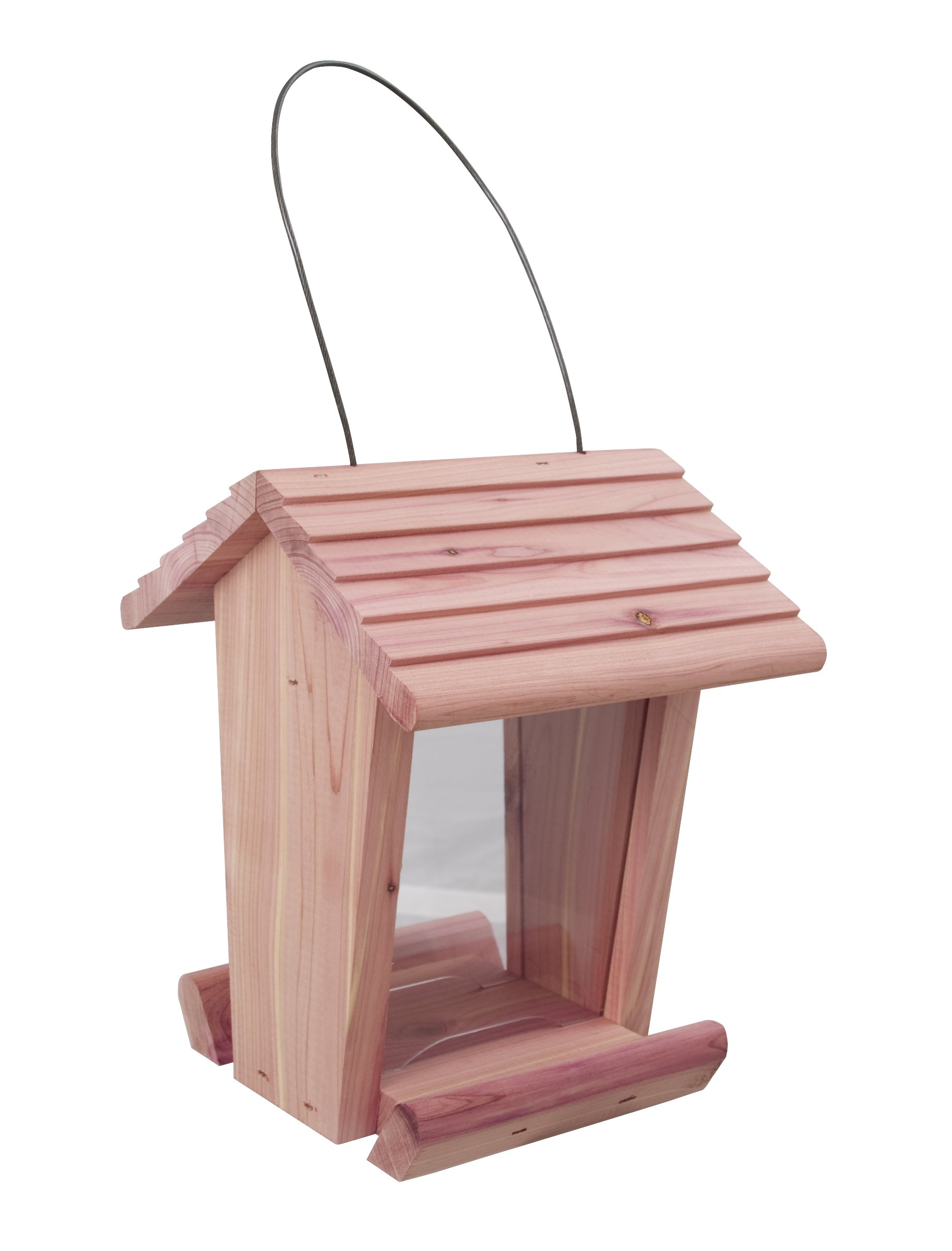 Pennington 100513431 Cedar Treater Bird Feeder, 2 LBS Capacity,