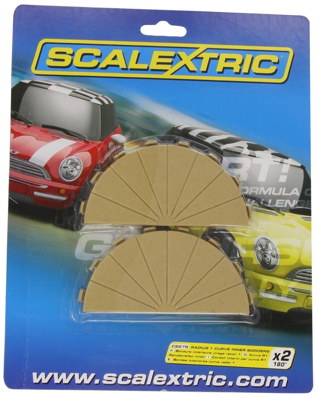Scalextric C8279 Bordures Int/érieures Courbe Radius 1 180/° x2