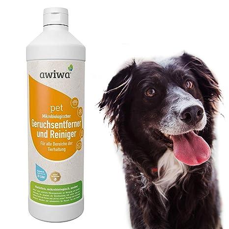 """awiwa Pet bio olor eliminador limpiador olores para perros y gatos (dermatológicamente""""muy"""