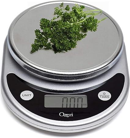 Ozeri Zk14 S Pronto Digital Multifunction Kitchen And Food Scale Black Kitchen Dining Amazon Com