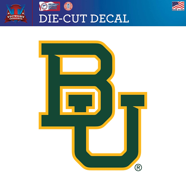 Victory Tailgate Baylor University Bears Die-Cut Vinyl Decal Logo 2