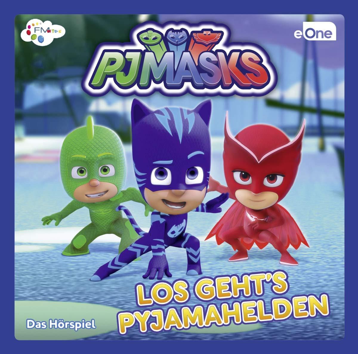 Los GehtS Pyjamahelden-das CD Hörspiel: PJ Masks: Amazon.es ...