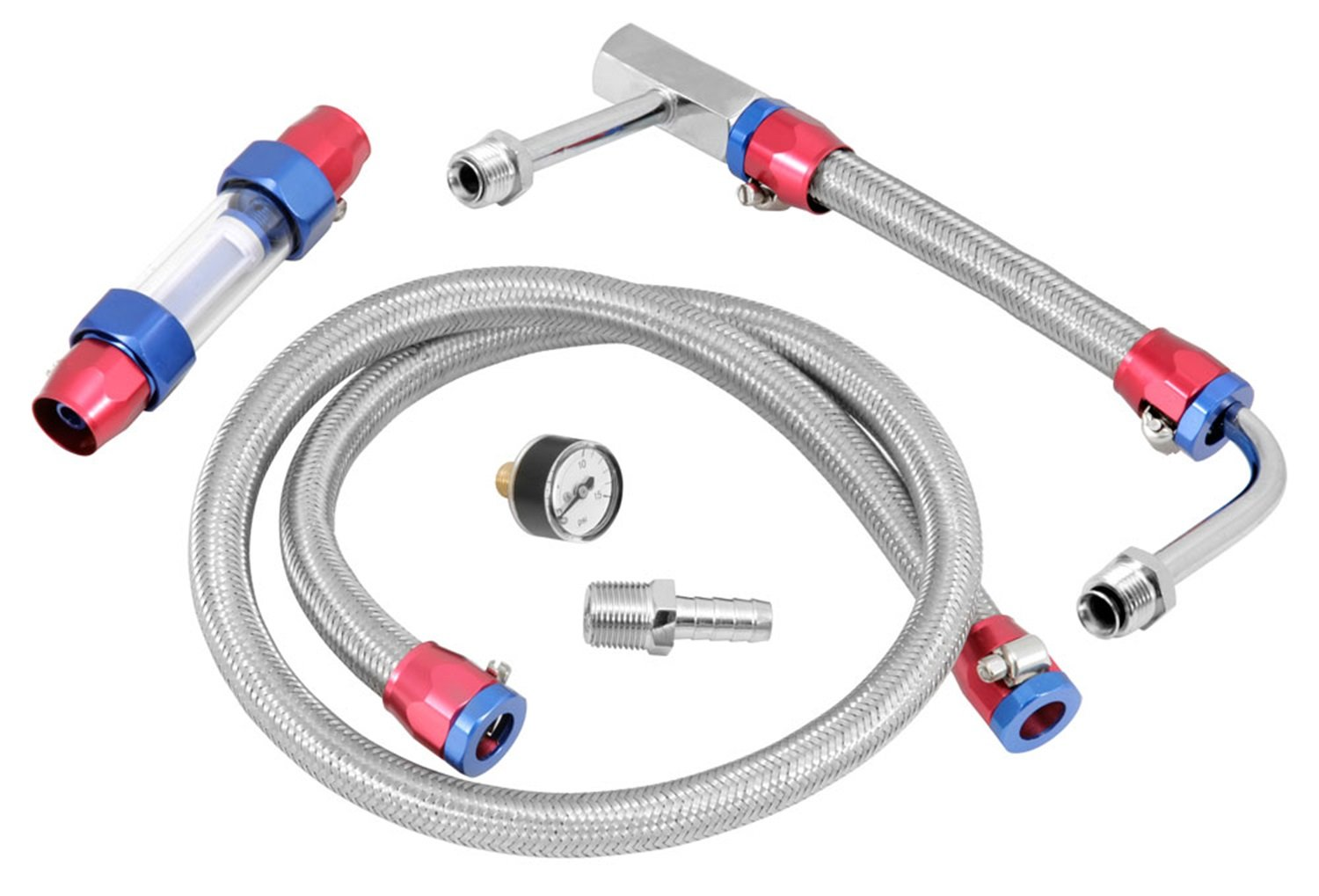 Spectre Performance 2955 Dual Feed Fuel Line Kit