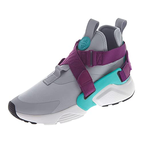sports shoes 14bcf 35ec1 Nike Air Huarache City Low - Scarpe da Corsa da Donna, (Wolf Grey