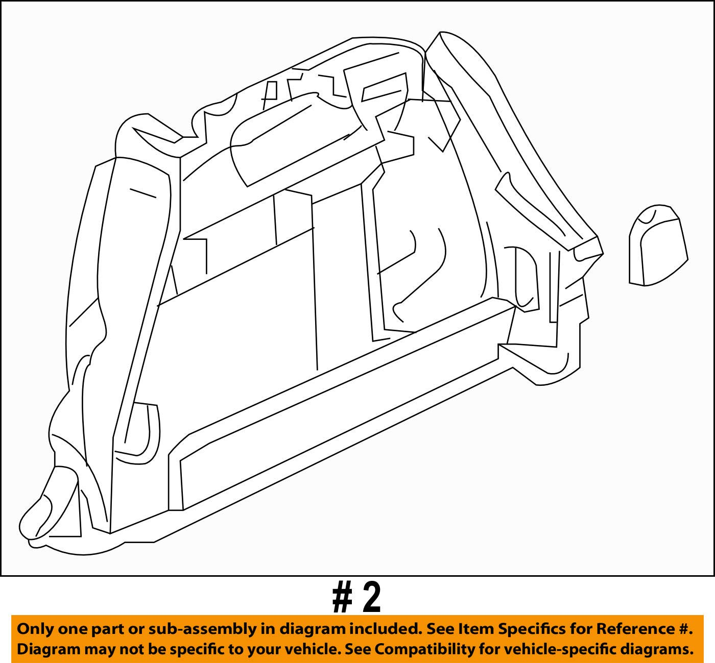 Mazda OEM 04-09 3 Interior-Rear-Trunk Side Trim Right B32H68850G02