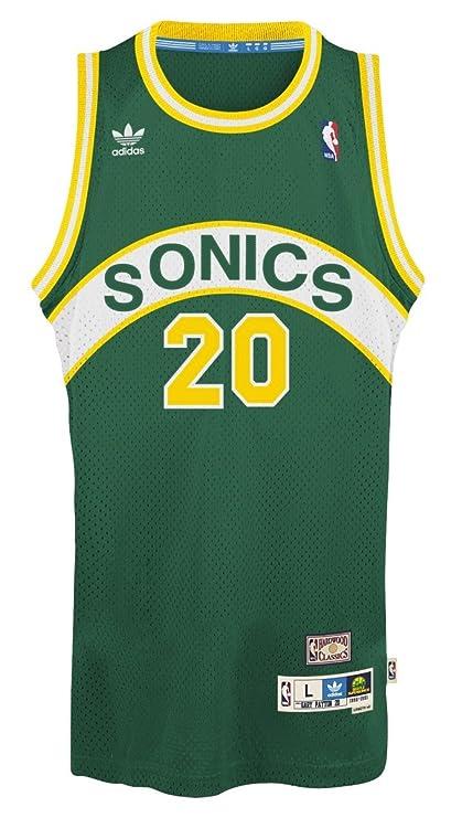 Gary Payton Seattle Supersonics Adidas NBA Throwback Swingman Jersey - Green 3a1281df9