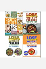 Keto diet complete guide, lose weight for good keto diet, low carb diet and slow cooker diet 4 books collection set Paperback