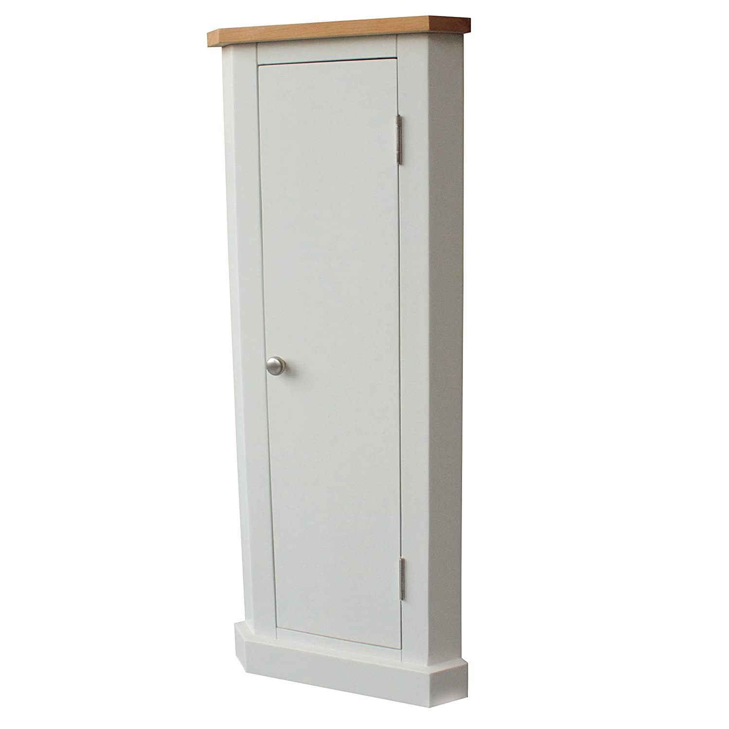 Corner Cabinet Unit Storage Oak Top Painted Finish Hallway Furniture Ford Barns