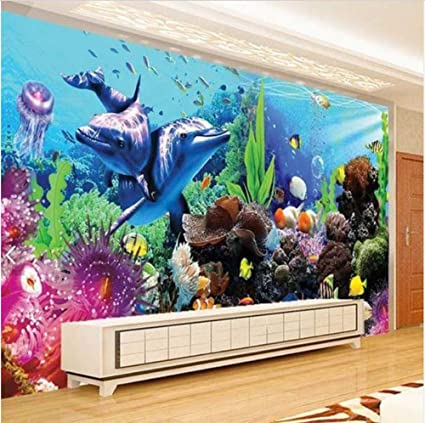 Amazon.com: 3D Wall Murals Decorations Wallpaper Stickers ...