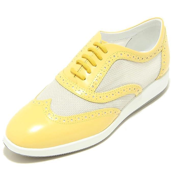 7014F scarpa HOGAN H209 DRESS XL FRANCESINA BUCATURE sneaker donna shoes women