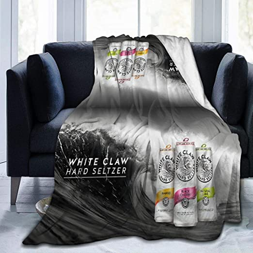 White Claw Hard Seltzer logo pillow