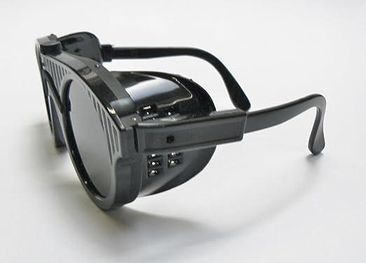 Gafas de seguridad gafas de protección gafas de pantalla 10 para fundir y soldadura (e 5): Amazon.es: Juguetes y juegos