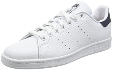 reputable site 41a2b f3bb2 adidas Men s Stan Smith Gymnastics Shoes, Bianco Ftwwht Conavy, ...