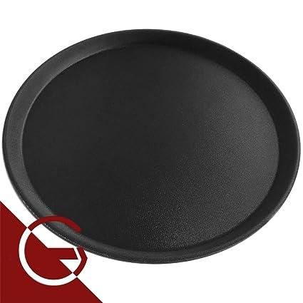 Gastroquik - 3 bandejas antideslizantes de camarero, para hosteler&iacute ...