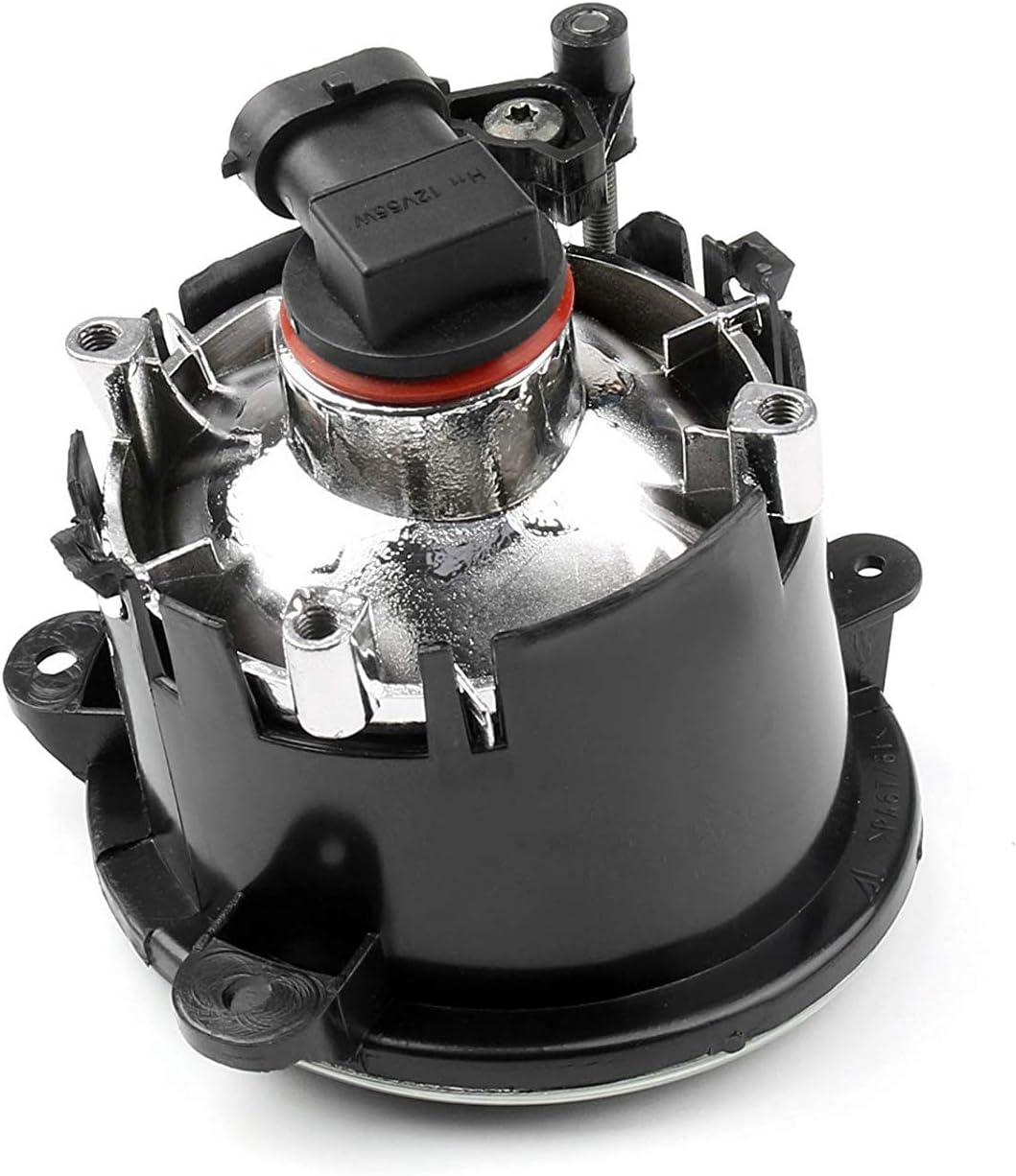 SEESEE.U Fog Lights Compatible Compatible for Car 1 pair Front Fog Lamp LED Fog Light Bulb Fog Lights Compatible Compatible for Land R-O-V-E-R Discovery 03-04 RANGE R-O-V-E-R 2006-2009