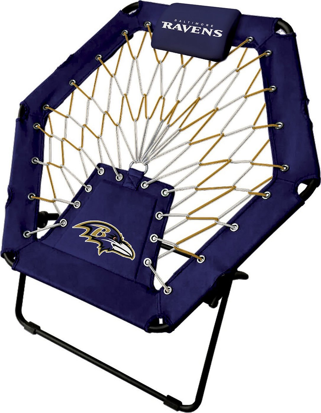 Imperial Officially Licensed NFL Furniture: Premium Bungee Chair, Baltimore Ravens by Imperial