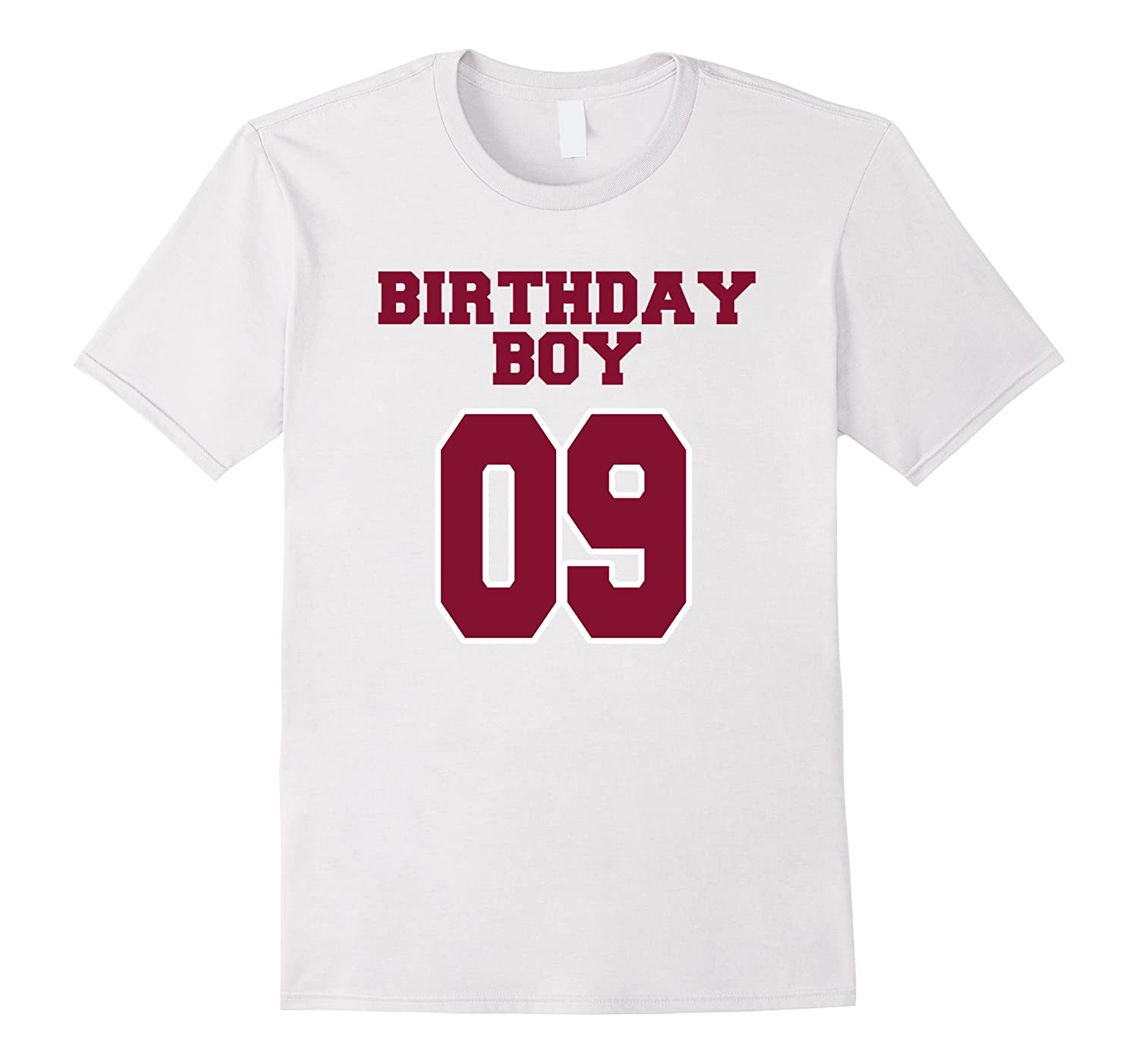 9th Birthday Boy 9 Years Old T Shirt College Style TH