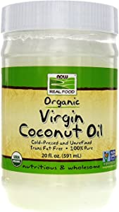 NOW Foods - Virgin Coconut Oil 20 fl oz