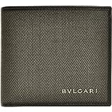 (ブルガリ) BVLGARI 財布 サイフ 二つ折り財布 ダークグレー PVC レザー 32581 ブランド メンズ アウトレット 並行輸入品 [並行輸入品]
