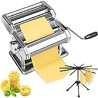 Lynndia 2-in-1 Manual Pasta Maker