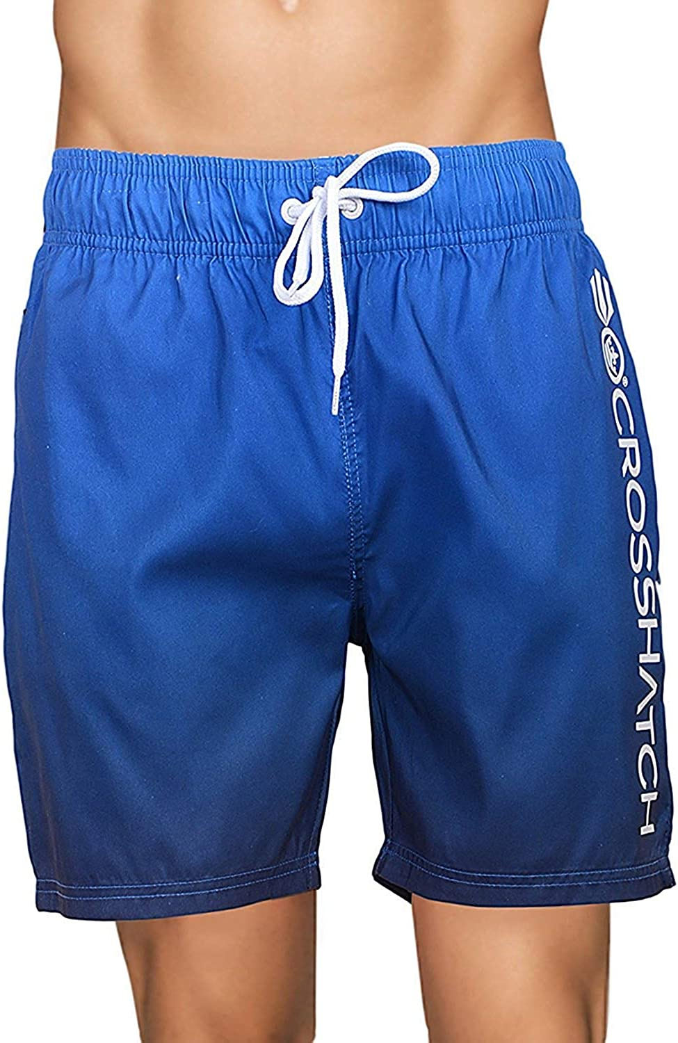 Crosshatch Mens Surf Board Trunks Beach Mesh Lined Swimming Shorts PACIFICSM