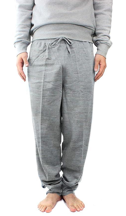 仮装接地目の前の[ボディワイルド] メンズルームウェア 丈短め長パンツ スムース