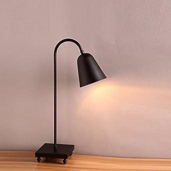 Corps Chevet Full Lampe Metal De Du Bureau Simple nwm8N0