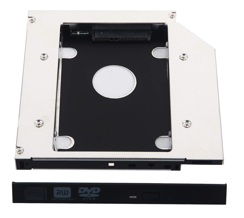 DeYoung 2 nd disco duro caso disco duro SSD Caddy para Fujitsu ...