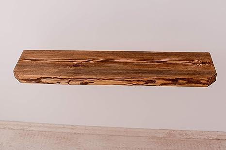 Legno Grezzo Per Mensole : Larisa rustikal mensola da parete in legno di rovere scuro con