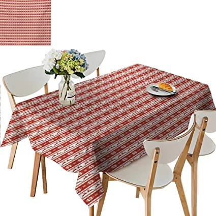 Amazon com: Custom Pattern Tablecloth,Norwegian Scandinavian