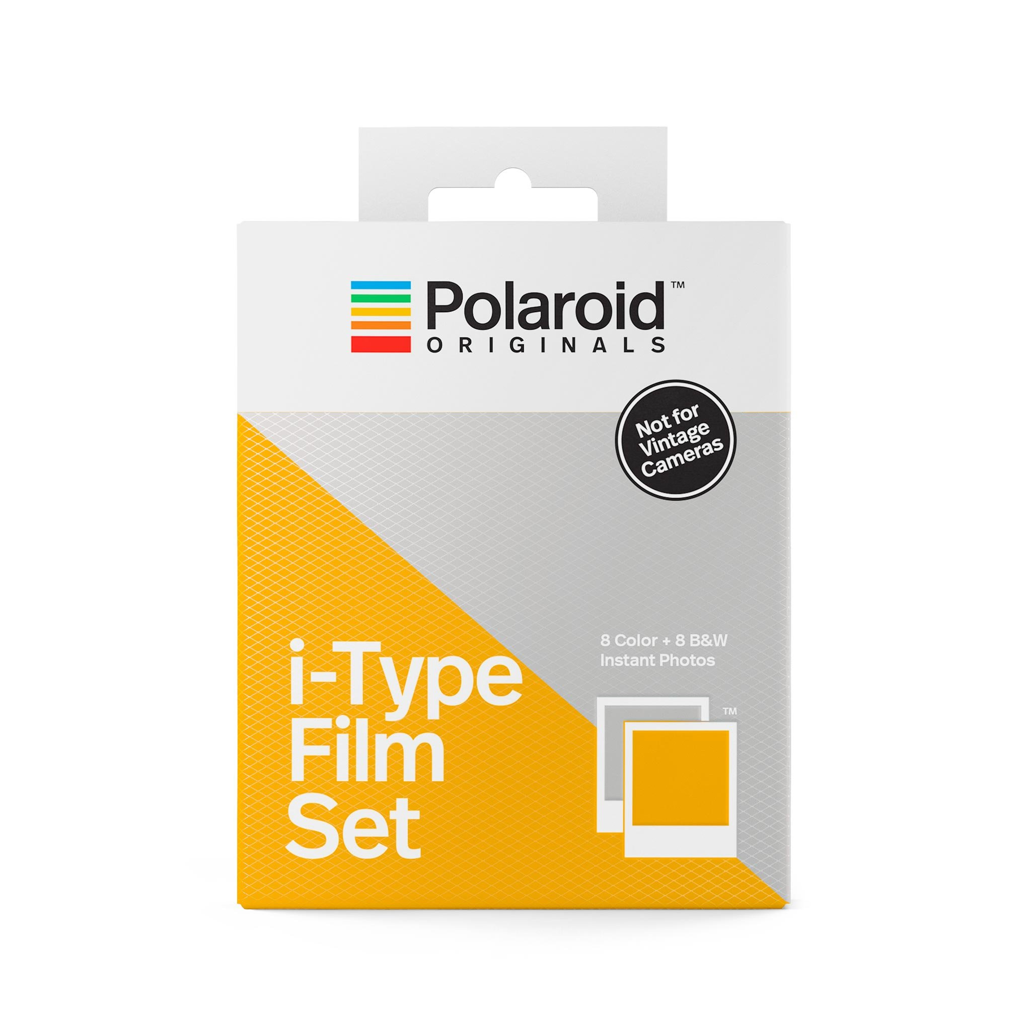 Polaroid Originals i-Type Two-Pack Film Set (1 Color + 1 B&W)