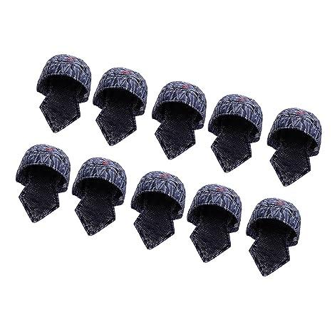 MagiDeal 10pcs Sombrero de Soldador Protectivo Gorro de Algodón Herramientas de Mano de Jardinería Patio Duradero
