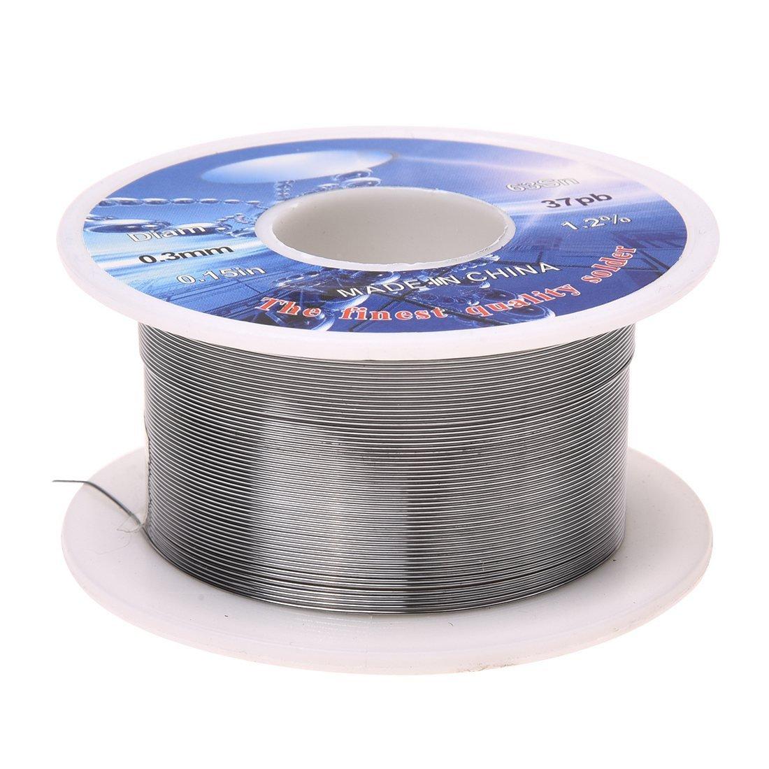 TOOGOO (R) fil à souder 0,3mm Diamètre 63% étain 37% plomb