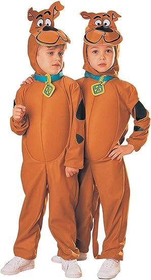 Scooby Doo Boys Toddler /& Kids Child Size Cartoon Dog Plush Jumpsuit Costume