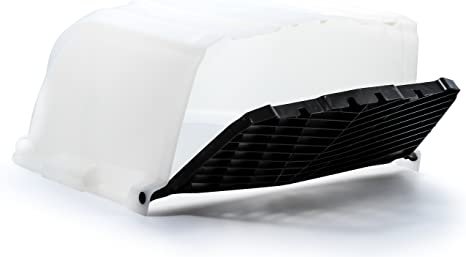 Roof Vent Covers >> Camco White Xlt High Flow Roof Vent Cover Opens For Easy Cleaning Aerodynamic Design Easily Mounts To Rv With Included Hardware 40446