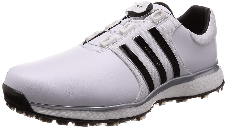 [アディダスゴルフ] ゴルフスパイク ツアー360 XT スパイクレス ボア メンズ ホワイト/コアブラック/シルバーメット 25.5 cm