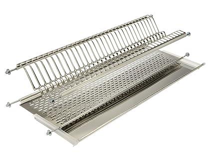 ELLETIPI Bridge I850 CB1 41 V01 - Escurreplatos para Mueble de Cocina, 45 cm, Acero Inoxidable