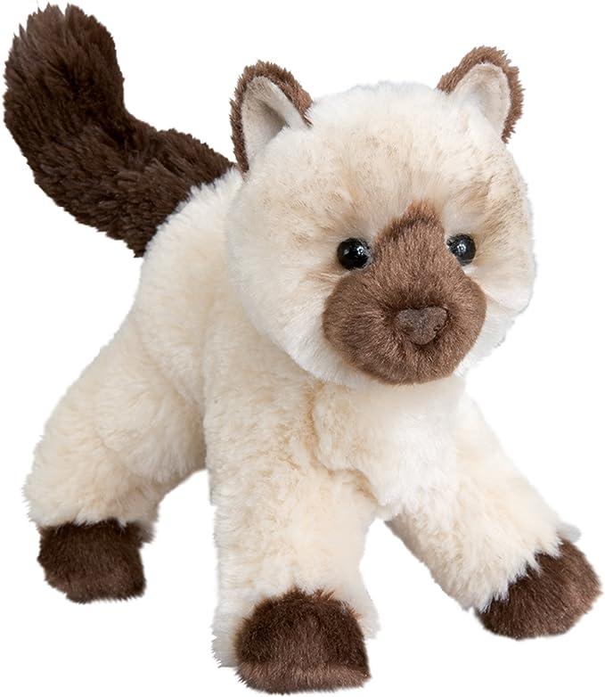"Amazon.com: Douglas Plush Hilda Himalyan Cat 8"": Toys & Games"