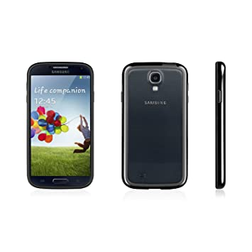 Macally - Carcasa para Samsung Galaxy S4, color negro ...
